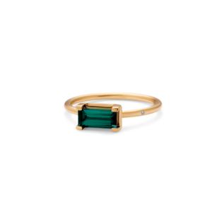 Nord | Green ring 18 karat JUWELS.DK