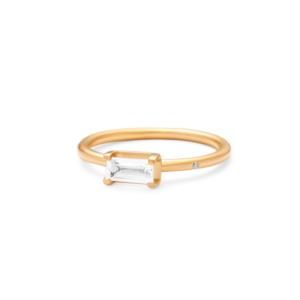 Nord | White ring, S 18 karat JUWELS.DK