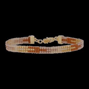 Mary armbånd – Toffee Love/Gold Armbånd armbånd i forgyldt sølv
