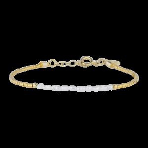 Lillian armbånd – Gold/Pearl Armbånd JUWELS.DK