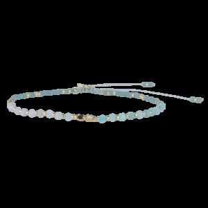 Dea armbånd – Mint/Gold Armbånd armbånd i forgyldt sølv