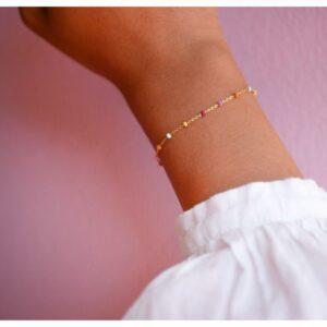 Lola armbånd – Rainbow Armbånd armbånd i forgyldt sølv