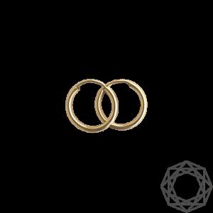 Creoler – 14 kt guld (2mm/13mm) 14 karat JUWELS.DK