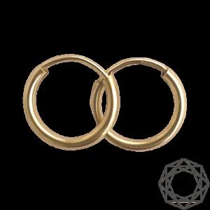Creoler – 14 kt guld (2mm/15mm) 14 karat JUWELS.DK