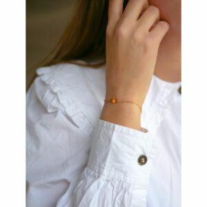 Soleil armbånd – Clementine Armbånd armbånd i forgyldt sølv