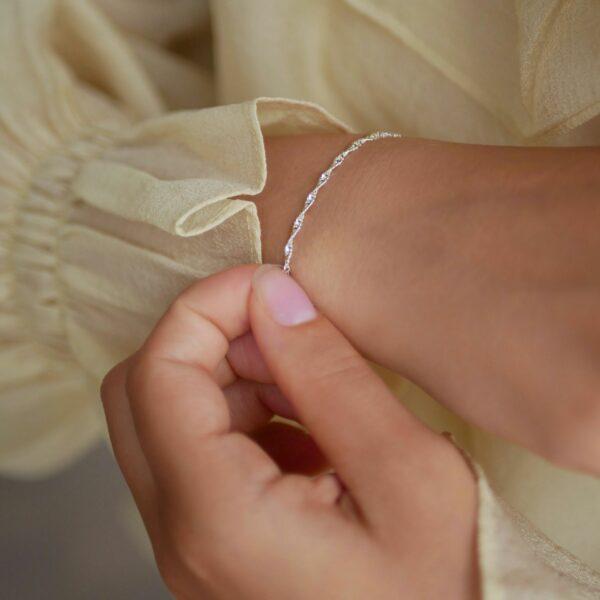 Paloma armbånd – Sølv Armbånd armbånd i sølv