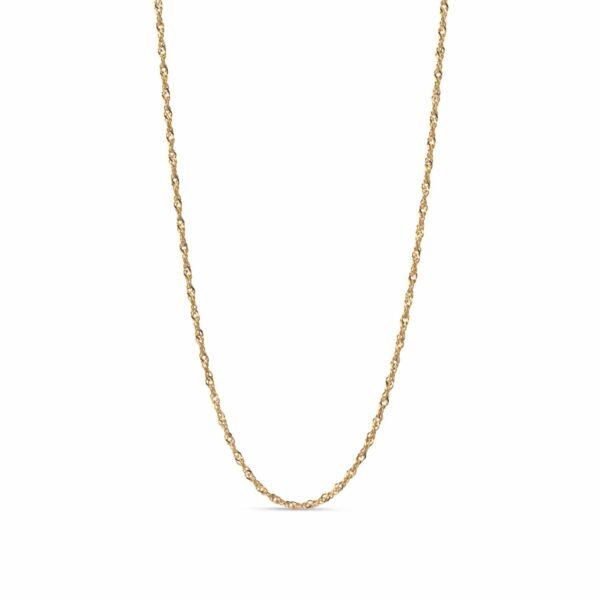 Paloma halskæde – Forgyldt Enamel halskæde i forgyldt sølv