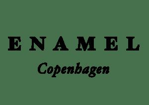 Enamel logo
