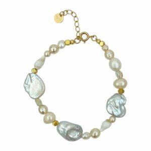 Pam armbånd – Pearl/Gold Armbånd JUWELS.DK
