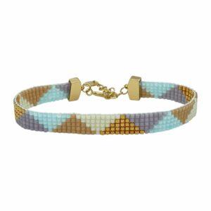 Janis armbånd – Pastel Love/Gold Armbånd JUWELS.DK