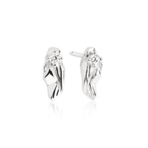 Vulcanello Parvus | Øreringe – sølv Klassisk ørestik i sølv