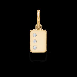 My Secret | L vedhæng 18 karat bogstaver i guld