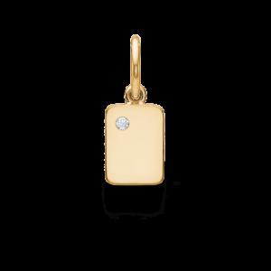 My Secret | A vedhæng 18 karat bogstaver i guld
