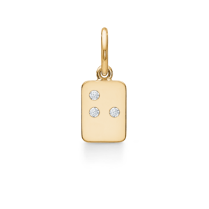 My Secret | H vedhæng 18 karat bogstaver i guld