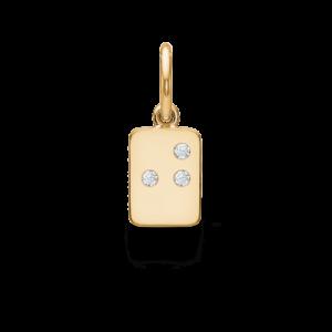 My Secret | J vedhæng 18 karat bogstaver i guld