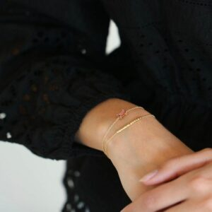 Nord | Pink armbånd 18 karat JUWELS.DK