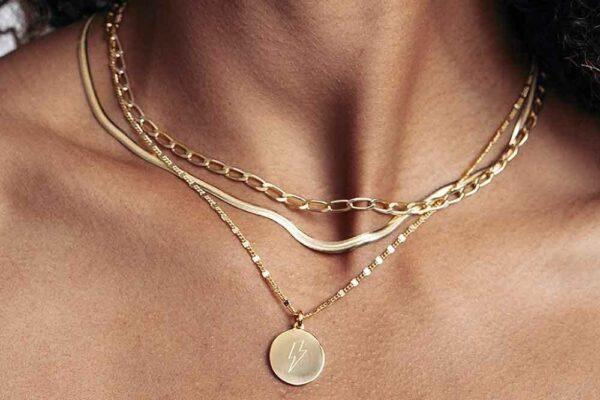Brillare | Halskæde – forgyldt Forgyldt sølv JUWELS.DK